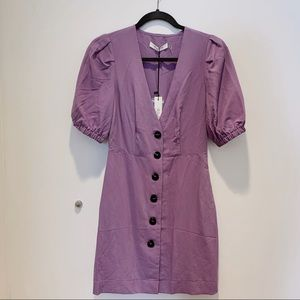 LILAC French Style Mini Dress (NEW) 💜